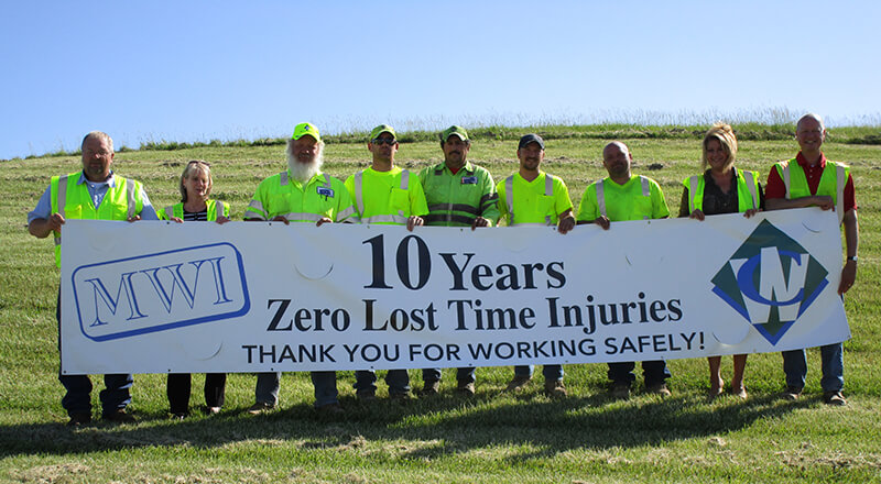 MWI Celebrates 10 Years of Safety